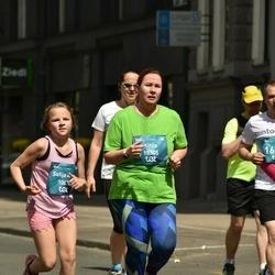 Tet Riga Marathon - Sofija Anna Strazdiņa (10020), Anna Pogudina (10354)