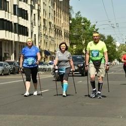 Tet Riga Marathon - Anita Barbane (10204), Normunds Šibeiks (13758), Irēna Šibeika (14465)