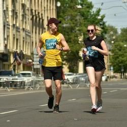 Tet Riga Marathon - Anastasija Poletajeva (13292), Edgars Kravinskis (14199)