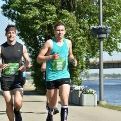 Tet Riga Marathon - Benjamin Lambert (4531), Emīls Balodis (6690)
