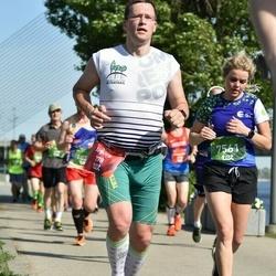 Tet Riga Marathon - Aigars Čeksters (278), Ilze Skujiņa (7561)