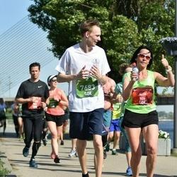 Tet Riga Marathon - Aija Rogale (826), Emīls Saulītis (7683)