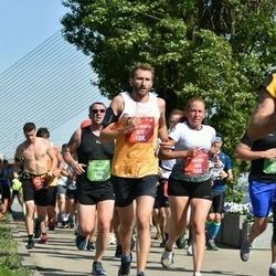 Tet Riga Marathon - Sandra Brāle (684), Alexandre Huffenus (877)