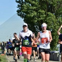 Tet Riga Marathon - Valdis Jaunžeikars (1902), Aigars Kokins (7946)