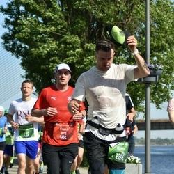 Tet Riga Marathon - Frank Lorenz (822), Gints Andžāns (3123)