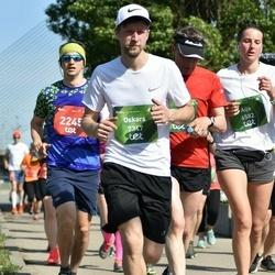 Tet Riga Marathon - Jānis Butkēvičus (2245), Aija Miglāne-Goge (6582), Oskars Krastiņš (7347)