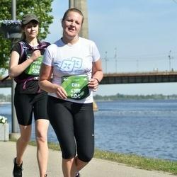Tet Riga Marathon - Agita Kudlāne (4198), Dita Bogdāne (4375)