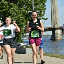 Tet Riga Marathon - Agita Solzemniece (4127), Beāte Šīmane (6591)