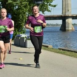 Tet Riga Marathon - Inese Kuzmane (7009), Eva Sniķere (7029)