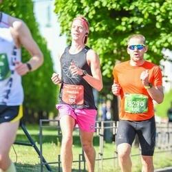 Tet Riga Marathon - Joachím Cassel (1442), Artis Davidnieks (8290)