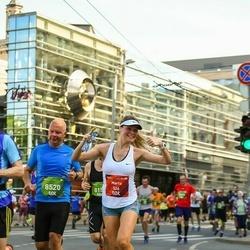 Tet Riga Marathon - Marta Kvisvika (526), Peter Jannerup (8520)