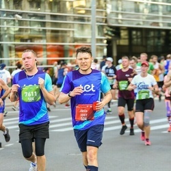 Tet Riga Marathon - Jānis Sīpols (2057), Edgars Runcis (7611)