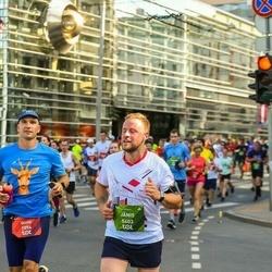 Tet Riga Marathon - Gints Berzins (1074), Jānis Kreicburgs (5403)