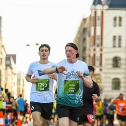 Tet Riga Marathon - Uldis Jurins (4466), Vladimirs Girsbergs (7793)