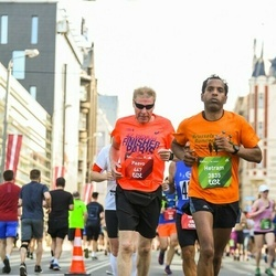 Tet Riga Marathon - Paavo Pajunen (447), Hetram Dirix (3835)
