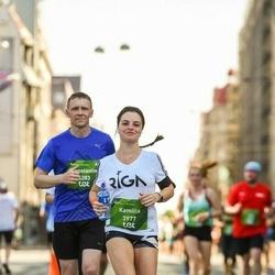 Tet Riga Marathon - Kamilla Trofimovskaia (3977), Konstantin Nozdrin (4283)