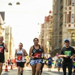 Tet Riga Marathon - Tim Shea (569), Faatemah-Zehra Piperdy (731)
