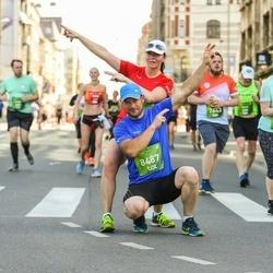 Tet Riga Marathon - Margit Edvand (8420), Silver Köster (8487)