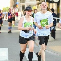 Tet Riga Marathon - Mārtiņš Meļķis (8017), Tija Ezeriņa (8405)