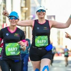 Tet Riga Marathon - Israela Zaks (8497), Tamar Cohen (8499)