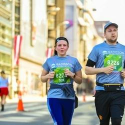 Tet Riga Marathon - Laura Bodniece (8224), Ralfs Aigars Rozītis (8226)