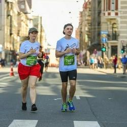 Tet Riga Marathon - Ausma Asnāte Dukure (7297), Jānis Trukšāns (7601)