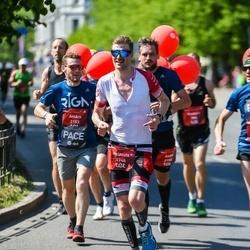 Tet Riga Marathon - Helmuts Gusts (1748), Ainārs Kumpiņš (2153)