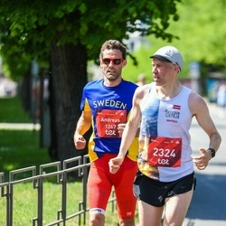Tet Riga Marathon - Andreas Skärbäck (1267), Matīss Vecvagaris (2324)
