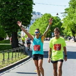 Tet Riga Marathon - Maris Gutmanis (696), Reinis Markvarts (824)