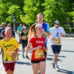 Tet Riga Marathon - Alīsija Stūrīte (19572), Oskars Bajārs (22945)