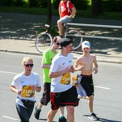 Tet Riga Marathon - Anita Solima (21357), Kristāns Zelčs (22490)