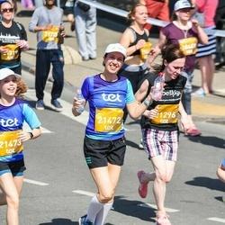 Tet Riga Marathon - Anete Krišjansone (21296), Jūlija Vaišļa (21472), Sabīne Vaišļa (21473)