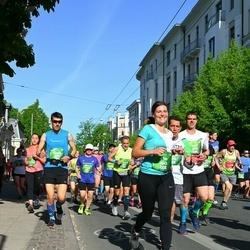 Tet Riga Marathon - Ivars Kore (3945), Rinalds Graudiņš (4566), Florideo Ranieri (5878), Alise Gaidule (6063)