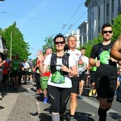 Tet Riga Marathon - Antanas Apynis (6548), Genovaitė Beniulienė (6549)