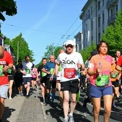 Tet Riga Marathon - Georgy Semenov (2463), Ilse Bellinck (3676)