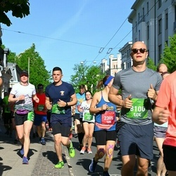 Tet Riga Marathon - Francisco Gabriel Arenas Verdu (6139), Līga Safronova (6459), Matīss Zvaigzne (8100)