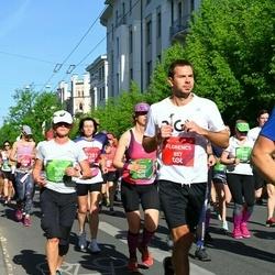 Tet Riga Marathon - Florencs Roberts (857), Jaana Huttunen (3611)