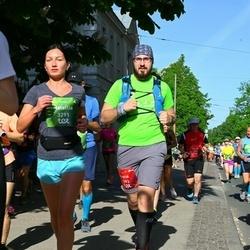 Tet Riga Marathon - Andris Melnis (1793), Natallia Hleb (3291)
