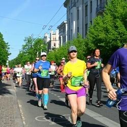 Tet Riga Marathon - Evelin Rõuk (5791), Laura Rigerte (6861)