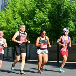 Tet Riga Marathon - Nigel Pointer (538), Jo Pearce (542), Faatemah-Zehra Piperdy (731)