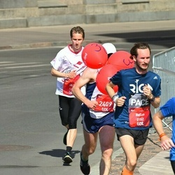 Tet Riga Marathon - Alvis Reinsons (1642), Reinis Tops (2152)