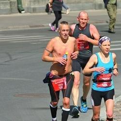 Tet Riga Marathon - Stephan Prosser (119), Amaury Debrabandere (1865)