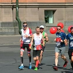 Tet Riga Marathon - Gatis Pūcītis (1806), Ainārs Kumpiņš (2153)