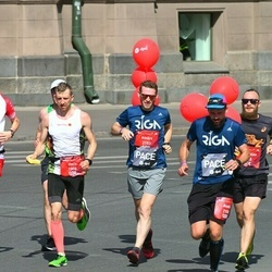 Tet Riga Marathon - Gatis Pūcītis (1806), Andis Geste (2150), Ainārs Kumpiņš (2153), Vladyslav Polenok (2205)