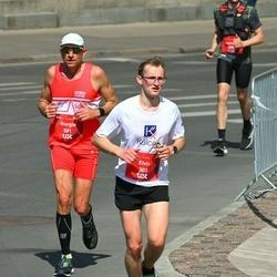 Tet Riga Marathon - Elvis Rubīns (303), Giorgio Dell'orca (581)