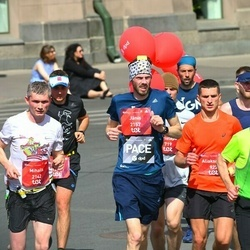 Tet Riga Marathon - Aliaksandr Grachulin (923), Sergii Chupak (1975), Mihails Kisļakovs (2142), Jānis Grāmatnieks (2157)