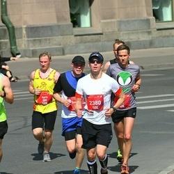Tet Riga Marathon - Agris Hatko (259), Reemet Valting (443), Aleksei Trunin (2380)