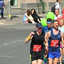 Tet Riga Marathon - Alexandr Pozharenko (1518), Eduardo Santamaria (1895)