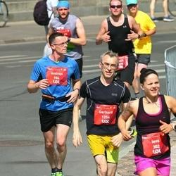 Tet Riga Marathon - Andrejs Gruzdevs (984), Gerhard Helletzgruber (1254)