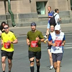 Tet Riga Marathon - Alistair Craig (575), Shimon Rabinovich Bar (1989), Oskars Pugačs (2441)
